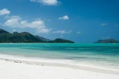 Σεϋχέλλες Όμορφη παραλία Anse Volbert Στοκ εικόνες με δικαίωμα ελεύθερης χρήσης