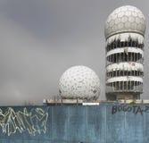 Σε έναν παλαιό σταθμό ακούσματος NSA Στοκ Εικόνες