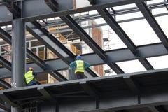 Σε ένα εργοτάξιο οικοδομής 2 Στοκ φωτογραφίες με δικαίωμα ελεύθερης χρήσης