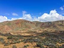 Σε ένα πόδι ενός ηφαιστείου Teyde Tenerife Στοκ Εικόνες