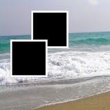 Σελίδα για να σχεδιάσει το εκλεκτής ποιότητας βιβλίο φωτογραφιών Λεύκωμα φωτογραφιών προτύπων στοκ φωτογραφία με δικαίωμα ελεύθερης χρήσης