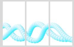 Σελίδες για το φυλλάδιο σε ένα αφηρημένο ύφος Στοκ Φωτογραφία