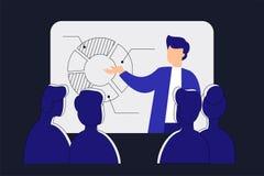 Σε απευθείας σύνδεση webinar Εξ αποστάσεως εκπαίδευση Διανυσματική απεικόνιση τεχνολογίας Στοκ φωτογραφίες με δικαίωμα ελεύθερης χρήσης