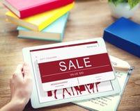 Σε απευθείας σύνδεση έννοια αγορών αποδείξεων πώλησης Στοκ φωτογραφίες με δικαίωμα ελεύθερης χρήσης