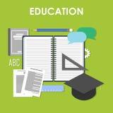 Σε απευθείας σύνδεση, επαγγελματική εκπαίδευση εκπαίδευσης Ελεύθερη απεικόνιση δικαιώματος