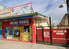Σε απευθείας σύνδεση κατάστημα ταξιδιού στις Φιλιππίνες στοκ εικόνα με δικαίωμα ελεύθερης χρήσης