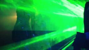 Σε αργή κίνηση χορός απόθεμα βίντεο