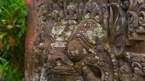 Σε αργή κίνηση steadicam που πυροβολείται του Puri Saren Royal Palace, Ubud πρεσών φιλμ μικρού μήκους