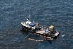 Σε βαθιά νερά διαρροή πετρελαίου οριζόντων σημείου βρασμού Στοκ φωτογραφίες με δικαίωμα ελεύθερης χρήσης