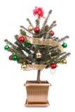 σε δοχείο δέντρο Χριστο&up στοκ φωτογραφία με δικαίωμα ελεύθερης χρήσης