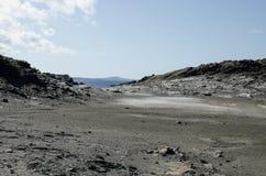 Σεληνιακό χώμα Στοκ εικόνα με δικαίωμα ελεύθερης χρήσης