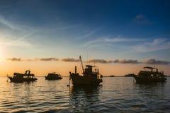 Σεληνόφωτο στη θάλασσα στοκ φωτογραφία με δικαίωμα ελεύθερης χρήσης