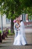 Σε μια ημέρα γάμου Στοκ Εικόνες