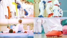 4 σε 1: τα παιδάκια συμμετέχουν στις πολεμικές τέχνες karate φιλμ μικρού μήκους