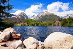 Σε υψηλό Tatras Στοκ εικόνα με δικαίωμα ελεύθερης χρήσης