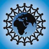 σε όλο τον κόσμο παιδιών Στοκ εικόνα με δικαίωμα ελεύθερης χρήσης