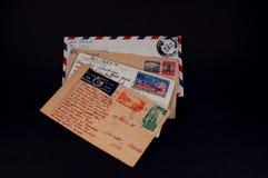 σε όλο τον κόσμο ταχυδρομείου Στοκ Φωτογραφία