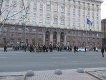 Σε Khreshchatyk στοκ φωτογραφία με δικαίωμα ελεύθερης χρήσης