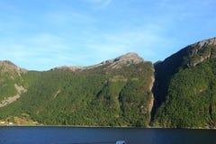 Σε Maurangerfjorden Νορβηγία Στοκ Φωτογραφίες