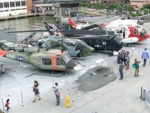 Σε USS απτόητο Στοκ Εικόνες