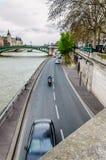Σηκουάνας, Παρίσι Στοκ Εικόνες
