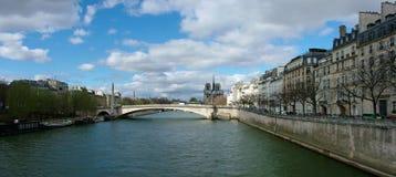 Σηκουάνας, Παρίσι Στοκ φωτογραφία με δικαίωμα ελεύθερης χρήσης