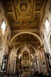 Σηκός στη βασιλική του ST John Lateran στη Ρώμη Ιταλία Στοκ φωτογραφία με δικαίωμα ελεύθερης χρήσης