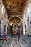 Σηκός της βασιλικής Lateran στην πόλη της Ρώμης Στοκ εικόνες με δικαίωμα ελεύθερης χρήσης