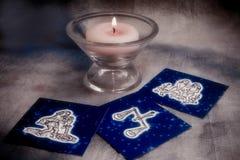 σημάδια αστρολογίας αέρ&alph Στοκ Εικόνες