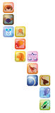 σημάδια αστρολογίας Ελεύθερη απεικόνιση δικαιώματος