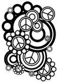 Σημάδια και κύκλοι ειρήνης Στοκ εικόνα με δικαίωμα ελεύθερης χρήσης