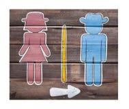σημάδια λουτρών Στοκ εικόνα με δικαίωμα ελεύθερης χρήσης