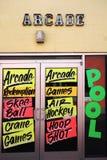 Σημάδια παιχνιδιών Arcade Στοκ Εικόνα