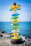 Σημάδια της Νίκαιας Στοκ φωτογραφία με δικαίωμα ελεύθερης χρήσης