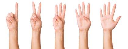 σημάδια χεριών Στοκ Φωτογραφία