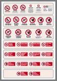 σημάδια Στοκ εικόνες με δικαίωμα ελεύθερης χρήσης
