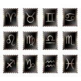 Σημάδια zodiac Στοκ Εικόνες
