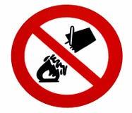σημάδι έκτακτης ανάγκης Στοκ εικόνες με δικαίωμα ελεύθερης χρήσης