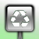 Σημάδι ή σύμβολο ανακύκλωσης Στοκ Εικόνες