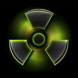 σημάδι ακτινοβολίας Στοκ εικόνα με δικαίωμα ελεύθερης χρήσης