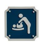 Σημάδι αλλαγής μωρών Στοκ Εικόνες