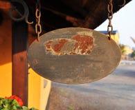 σημάδι αλυσίδων Στοκ φωτογραφία με δικαίωμα ελεύθερης χρήσης
