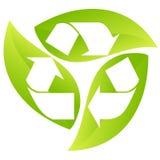 σημάδι ανακύκλωσης Στοκ φωτογραφία με δικαίωμα ελεύθερης χρήσης