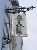 σημάδι αντικών Στοκ φωτογραφία με δικαίωμα ελεύθερης χρήσης