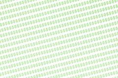 σημάδι δολαρίων ανασκόπησ& Στοκ Εικόνα