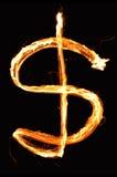 σημάδι δολαρίων Στοκ φωτογραφίες με δικαίωμα ελεύθερης χρήσης
