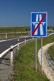 σημάδι εθνικών οδών Στοκ φωτογραφίες με δικαίωμα ελεύθερης χρήσης