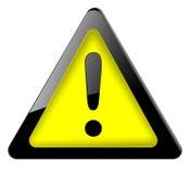 σημάδι εικονιδίων κινδύν&omicron Στοκ εικόνα με δικαίωμα ελεύθερης χρήσης