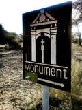 Σημάδι εκκλησιών συμβολικά στοκ φωτογραφία με δικαίωμα ελεύθερης χρήσης