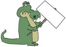 σημάδι εκμετάλλευσης gator ελεύθερη απεικόνιση δικαιώματος